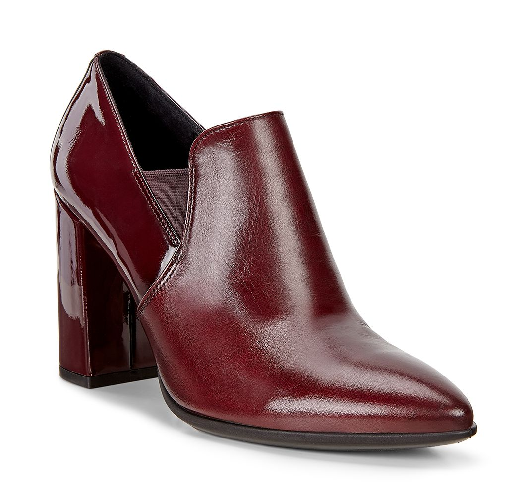 Pantofi business dama ECCO Shape 75 Pointy Block (Morillo-Bordeaux)_599.90lei