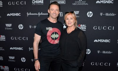 Hugh Jackman si Deborra-lee Furness