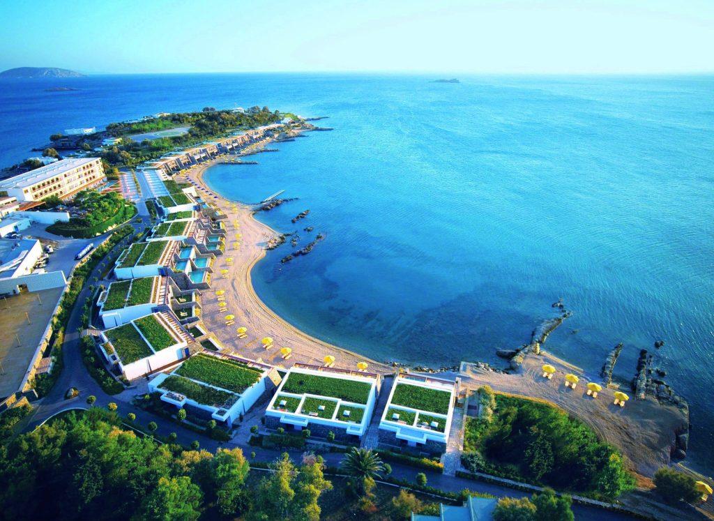 Grand Resort Lagonissi – partea vestica