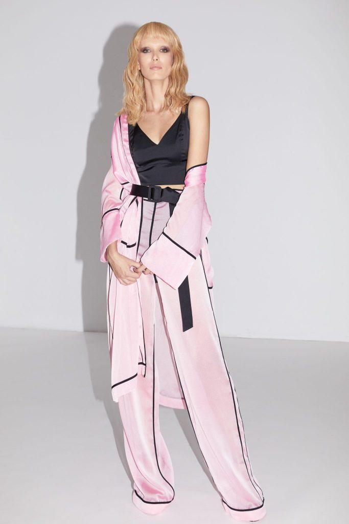 Murmur Store_Flashback Trenchcoat_Flashback Trousers_Satin Candy Bra Top