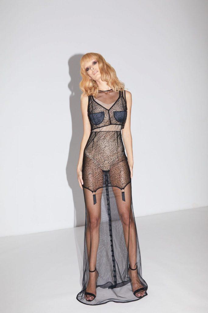 Murmur Store_Spandex Sculpt Bodysuit_Frame Long Dress