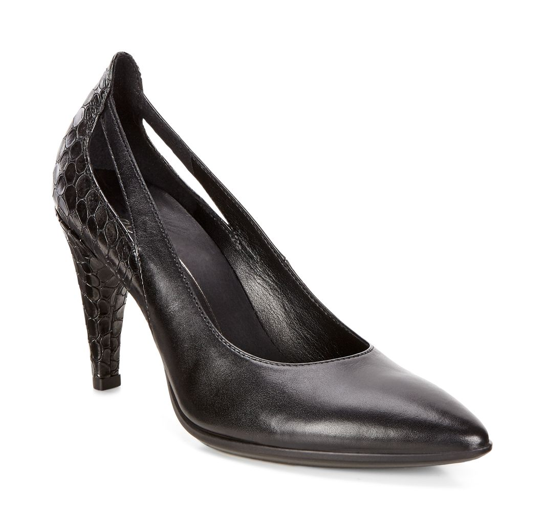 Pantofi business dama ECCO Shape 75 Pointy (Negri)_579.90lei