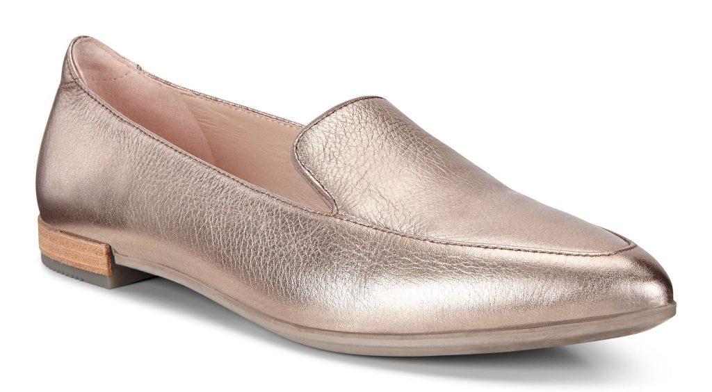 Pantofi business dama ECCO Shape Pointy Ballerina (Warm Grey)_549.90lei