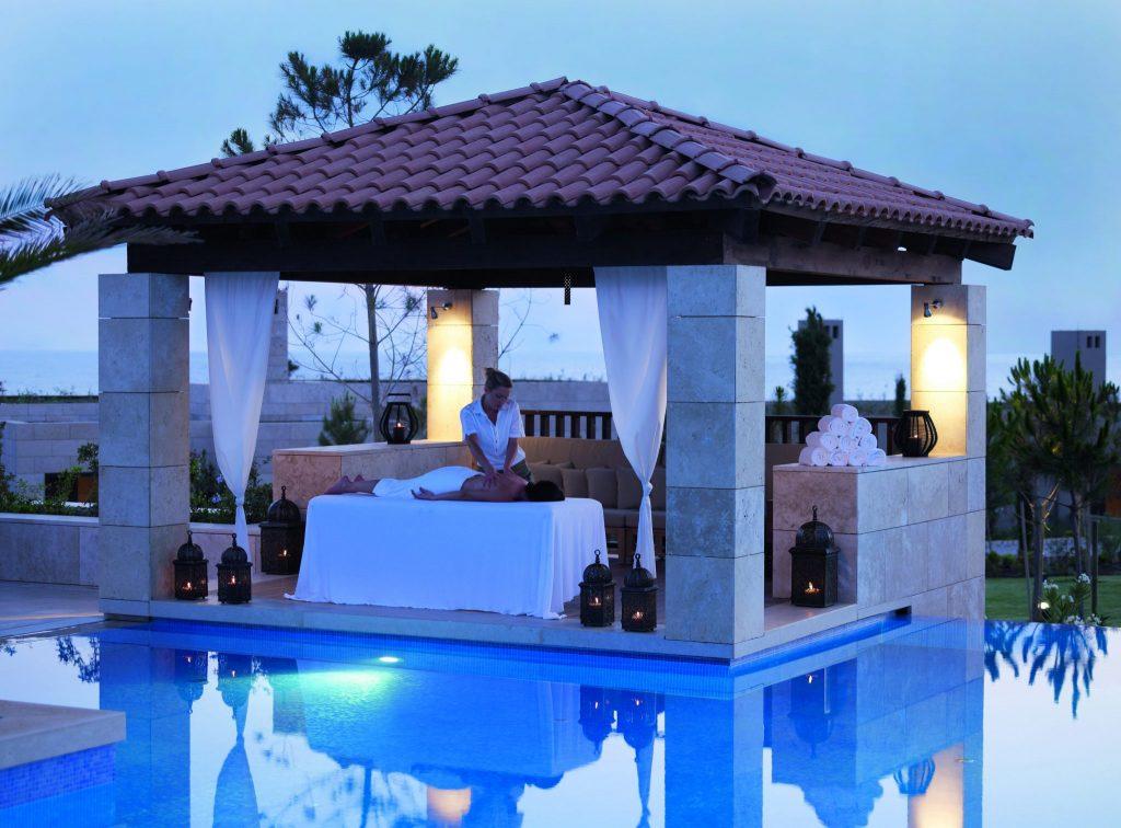 Pavilionul Spa pus la dispozitie de resortul Westin