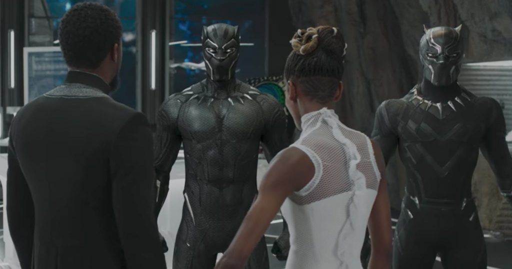 black panther filme supereroi 2018