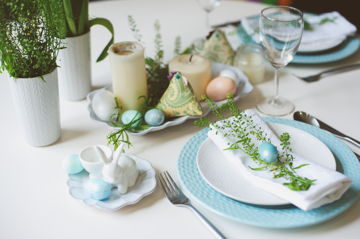 decoratiuni masa de paste