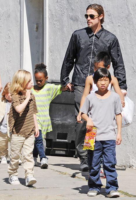 Brad Pitt – copii