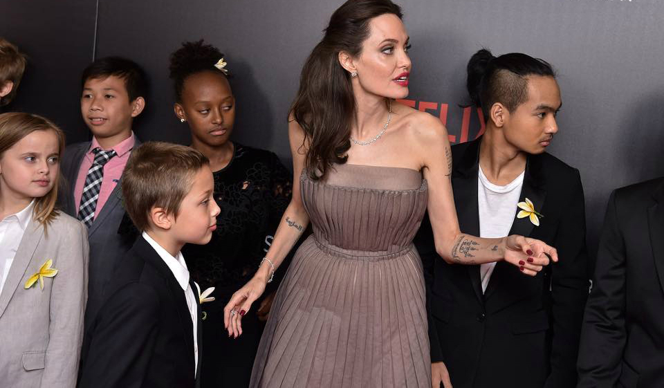 Angelina Jolie-copii