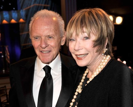 Anthony Hopkins și Shirley MacLaine