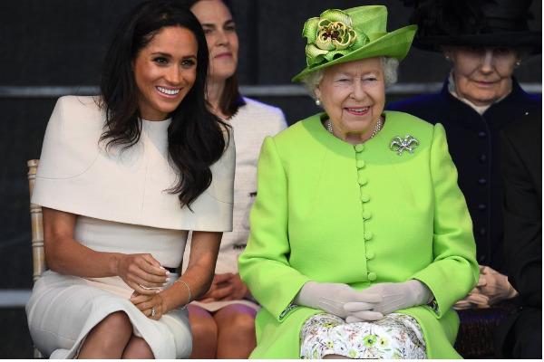 meghan markle regina elisabeta 1