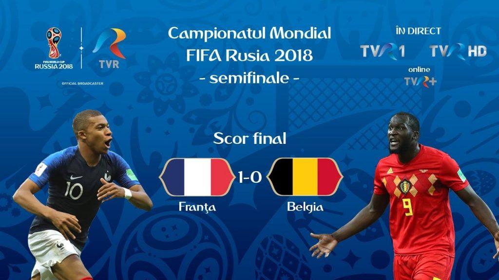 scor final Franta_Belgia