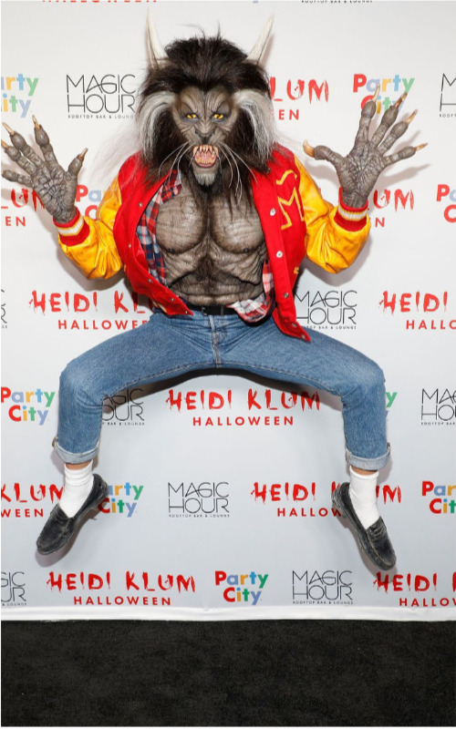 heidi klum werewolf