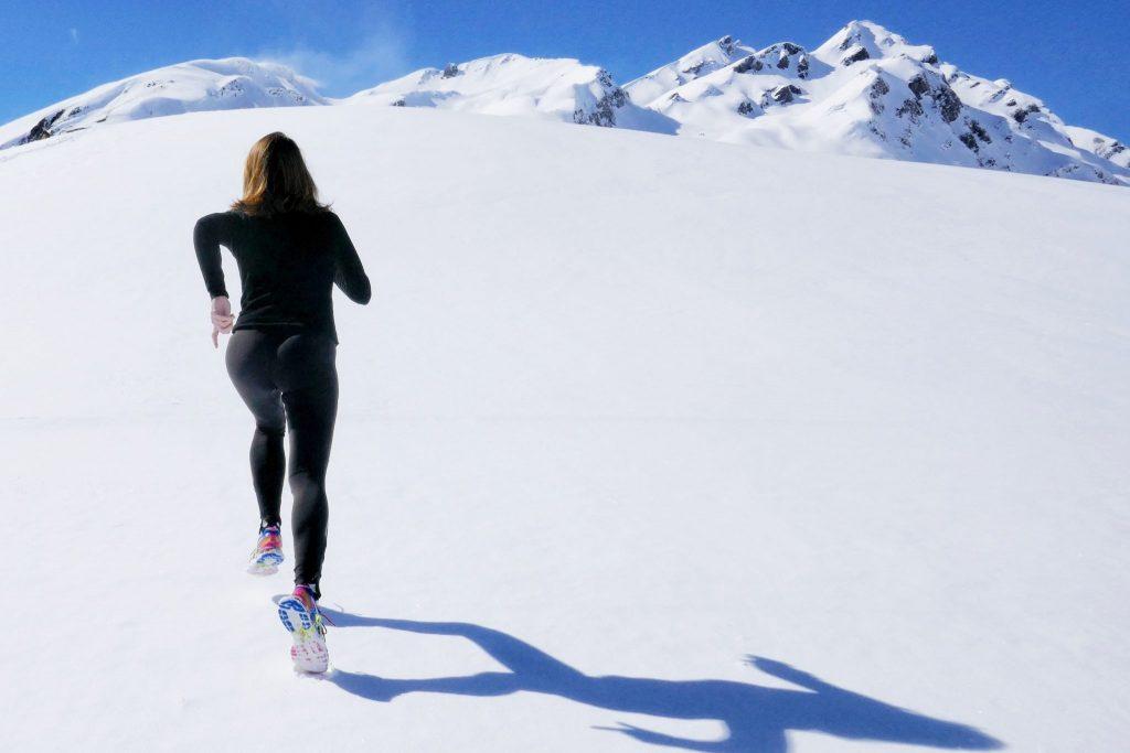 exercitii pe munte