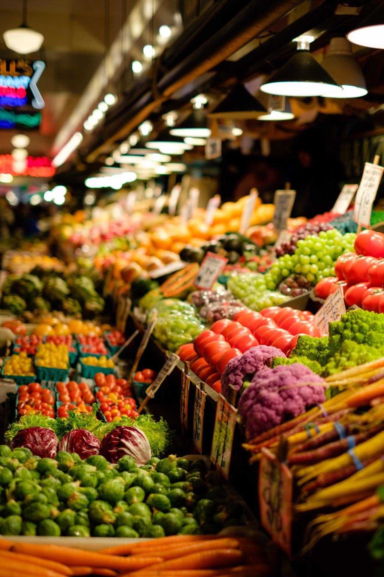 cumparaturi la piața