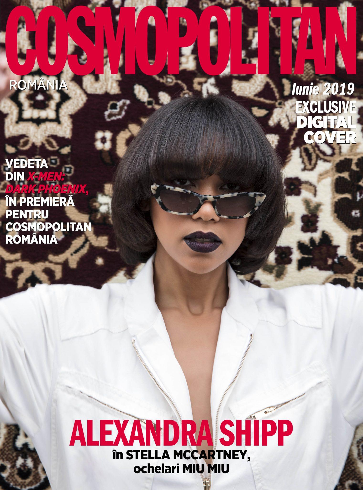Alexandra Shipp Cosmopolitan iunie 2019 digital cover