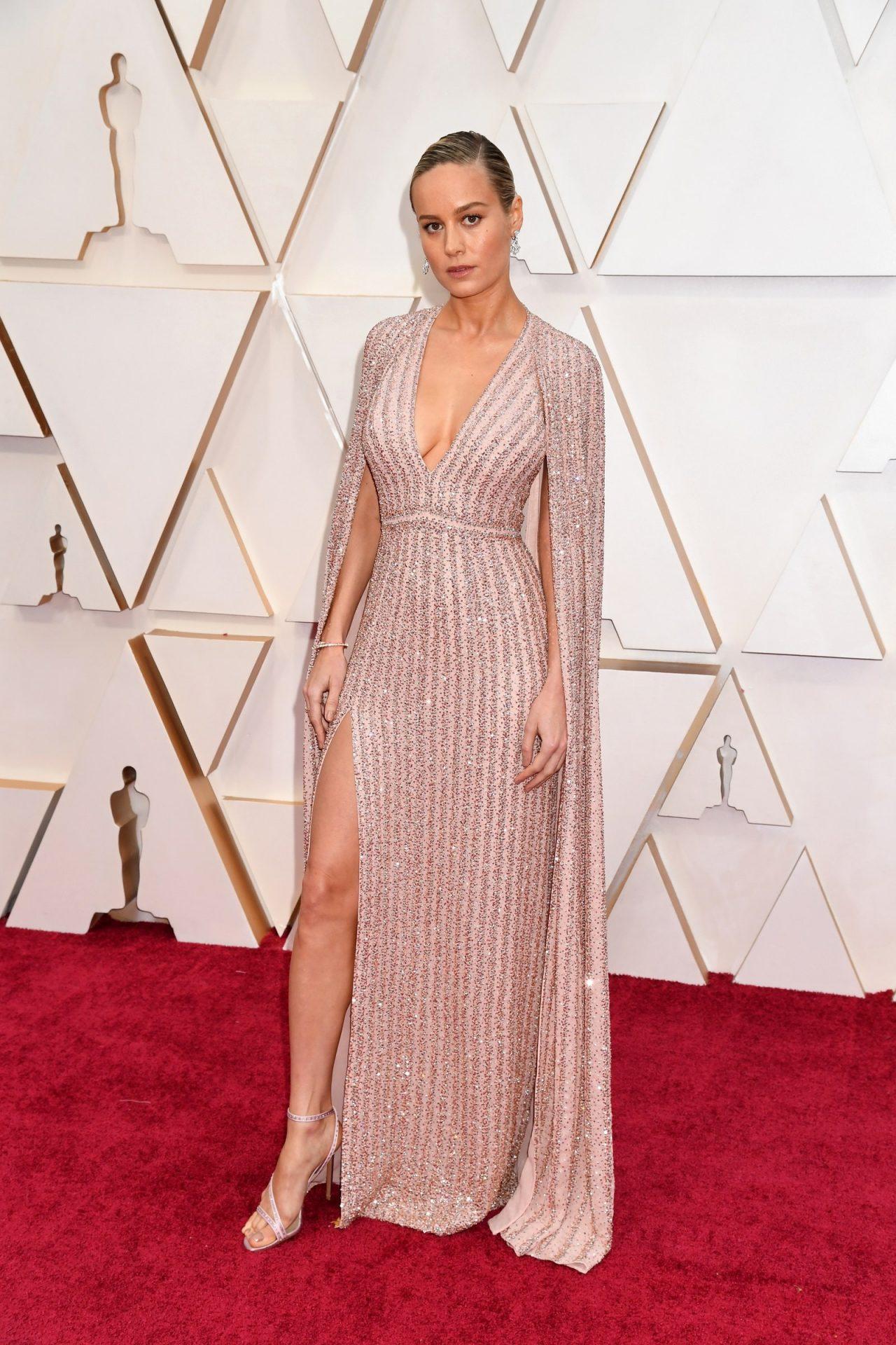 Brie Larson in Celine Oscar 2020