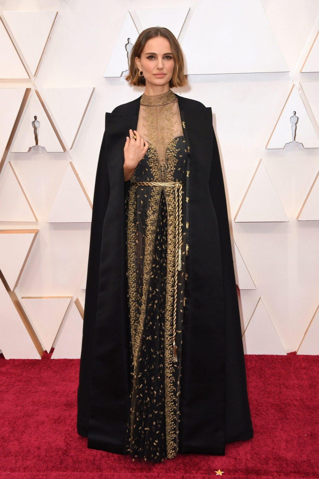 Natalie Portman in Dior 2020 Oscar