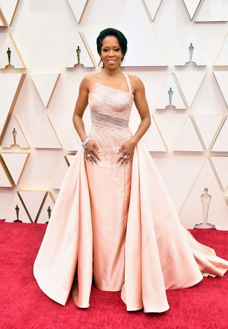 Regina King in Versace Oscar 2020