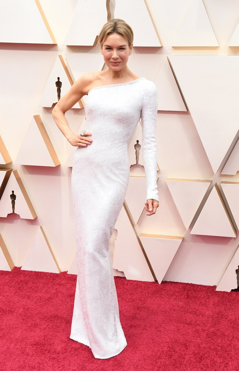 Renée Zellweger in Armani Privé Oscar 2020