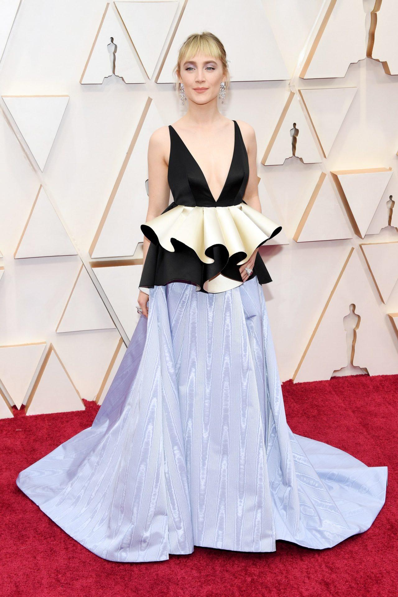 Saoirse Ronan in Gucci Oscar 2020