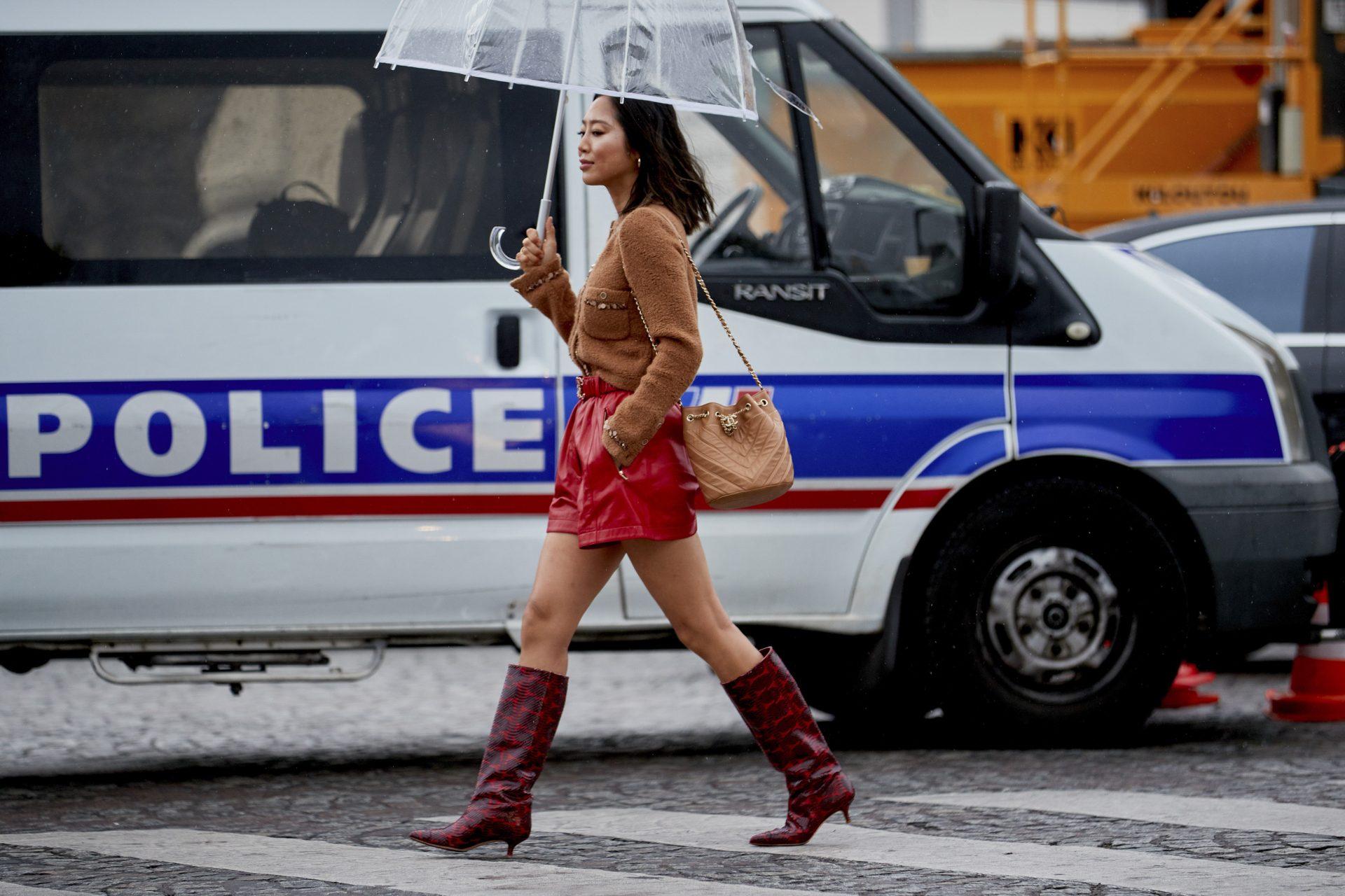 idei de tinute zile ploioase