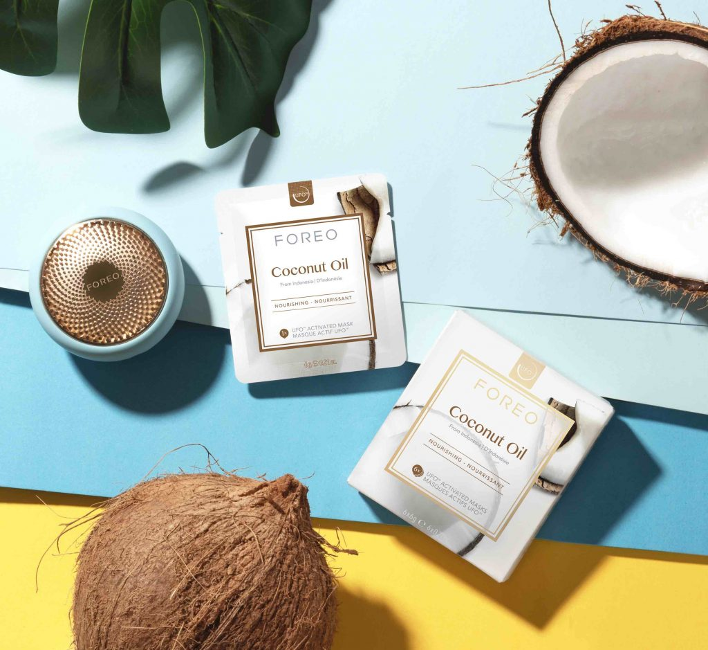 Coconut oil lifestyle Foreo
