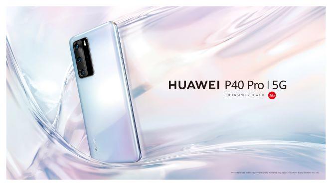 Huawei P40 Pro – Ice White