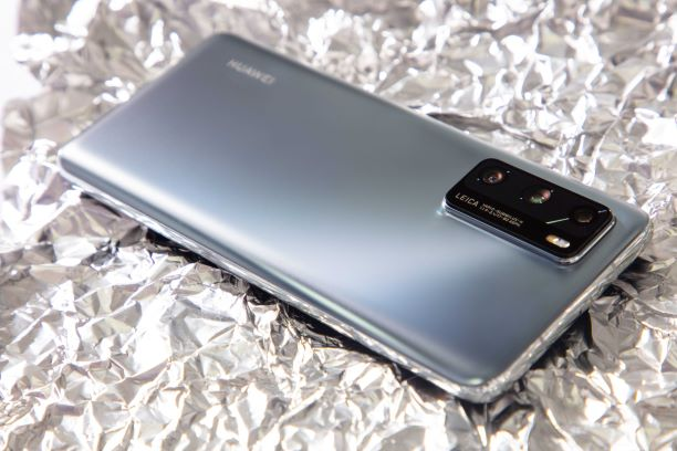 Huawei P40 Pro_Silver Frost