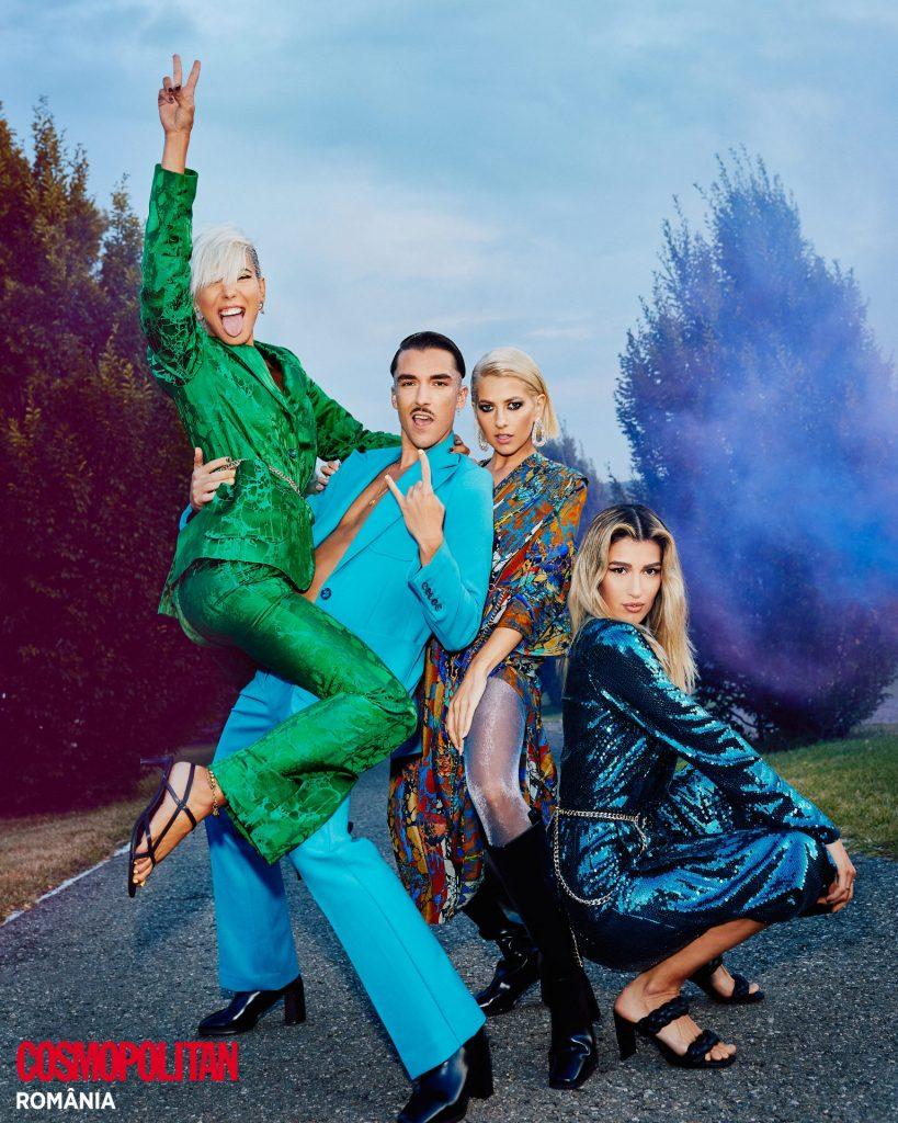Alina Eremia, Sore, Lidia Buble și Emil Rengle pentru H&M Studio