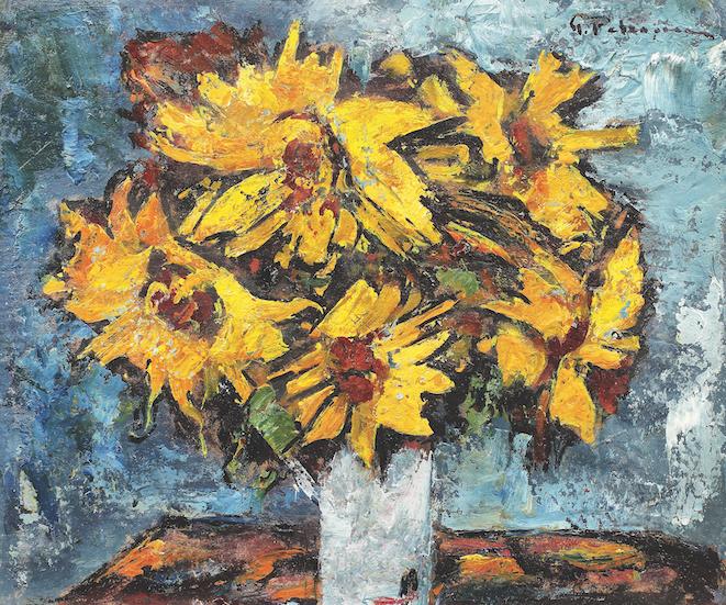 Floarea-soarelui – Gheorghe Petrașcu