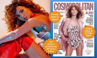 copertă Cosmopolitan octombrie