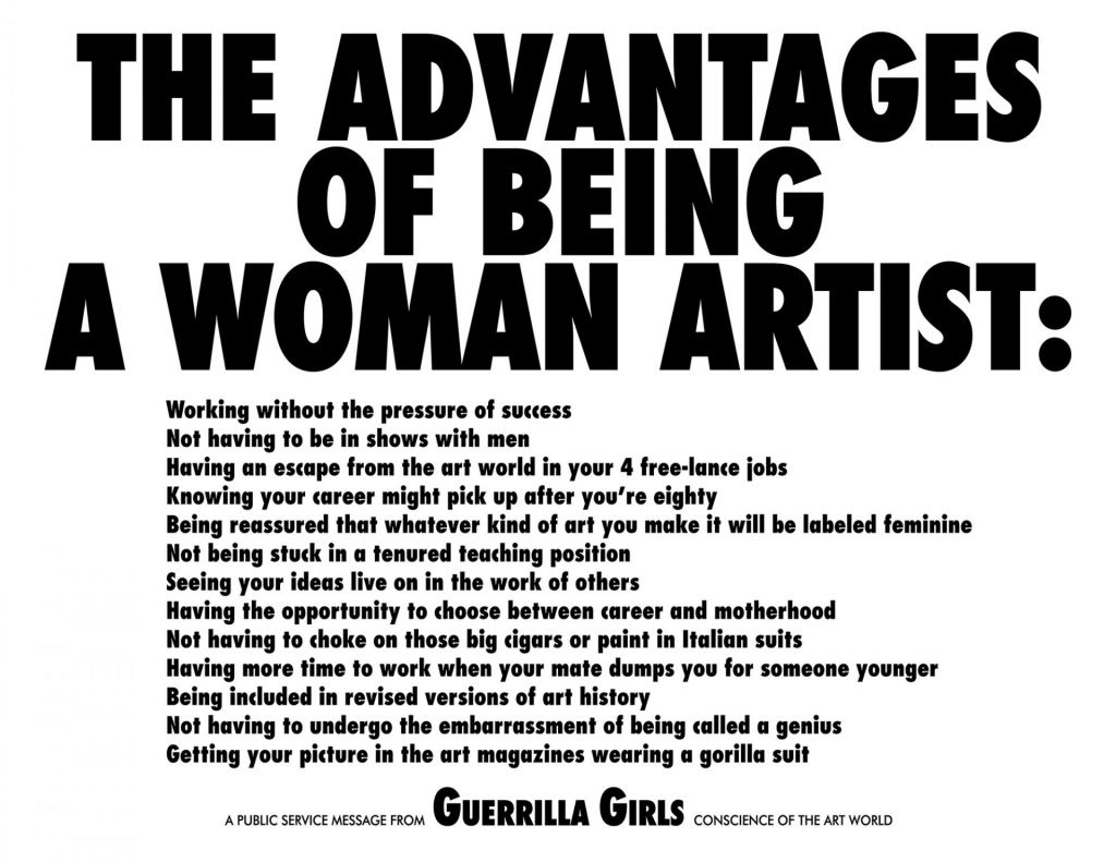 Guerilla Girls la Art Safari