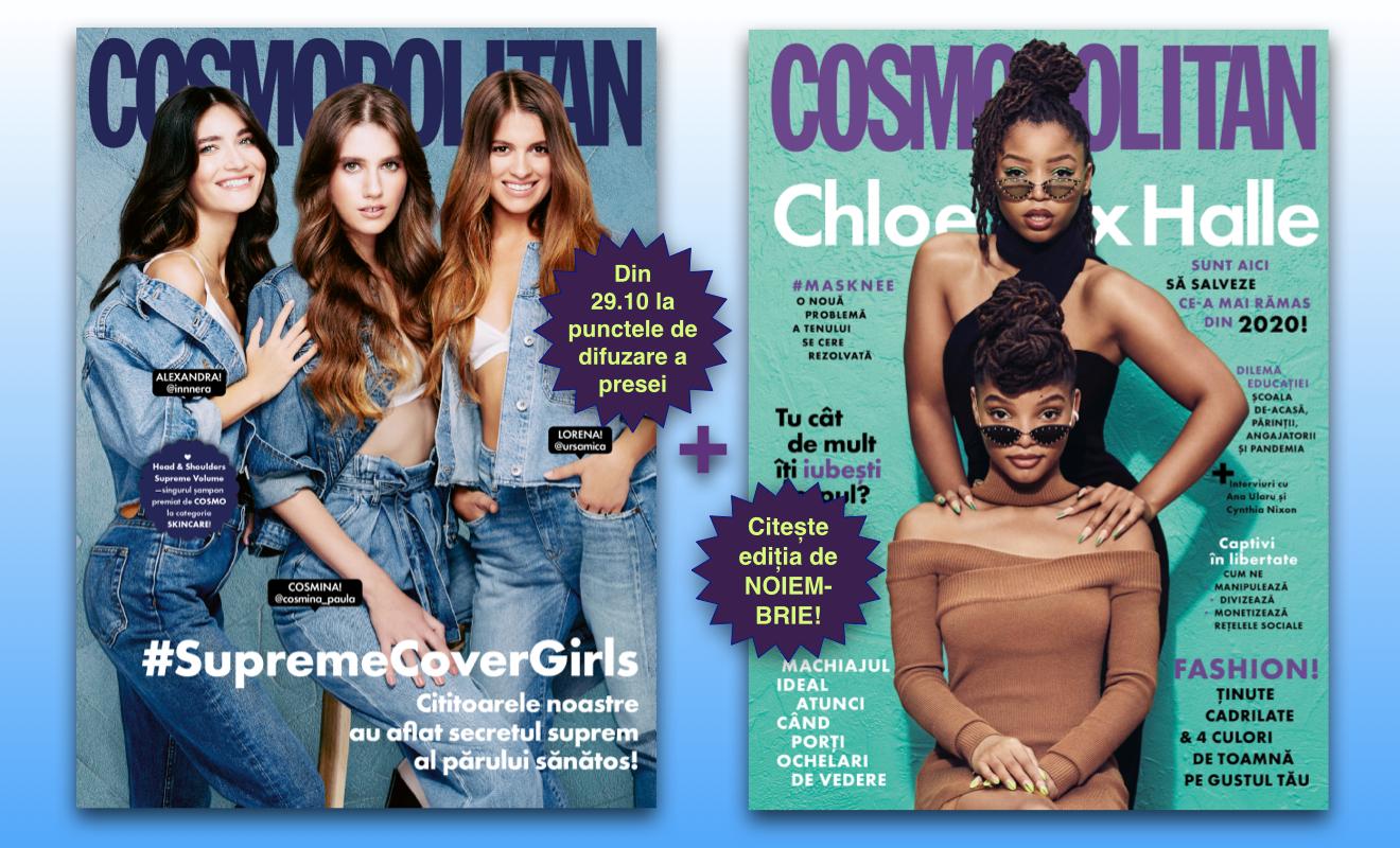 Cosmopolitan de noiembrie 2020