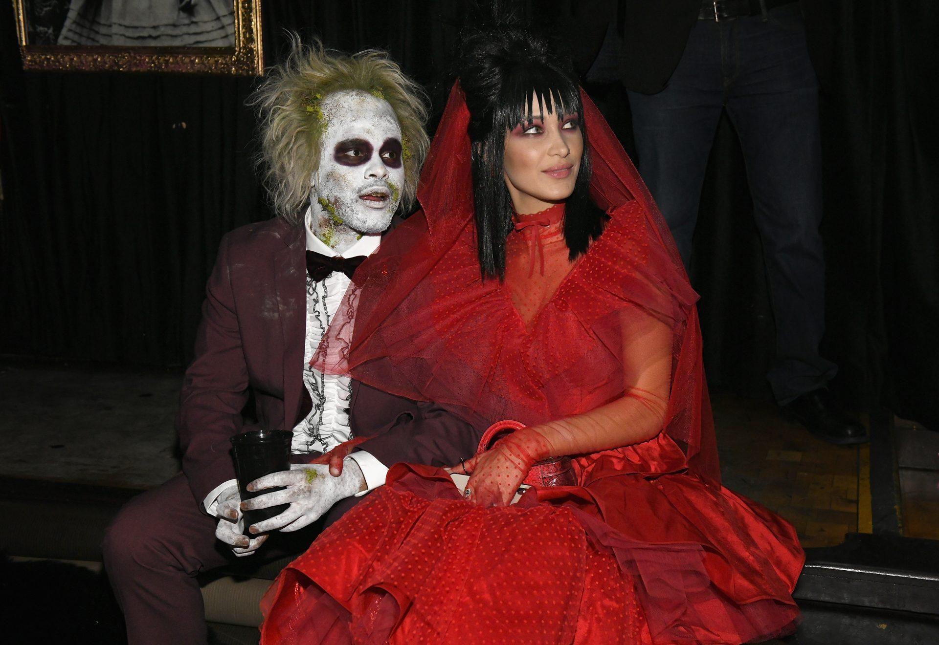 Costume Halloween Bella Hadid The Weeknd
