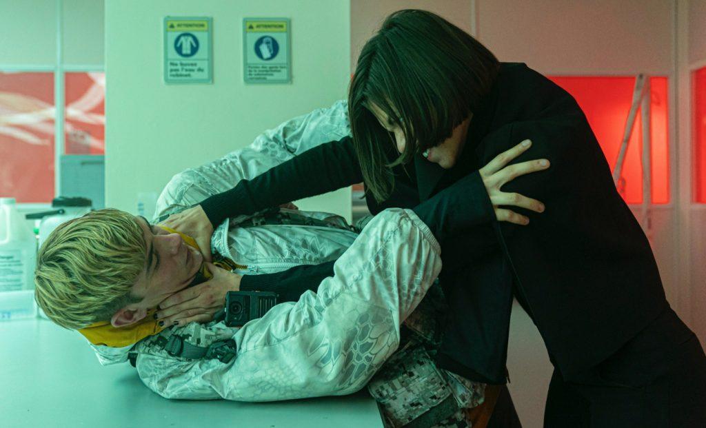 Ana Ularu și Otto Farrant în Alex Rider / AXN