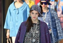 Chanel Paris Fashion Week defilare