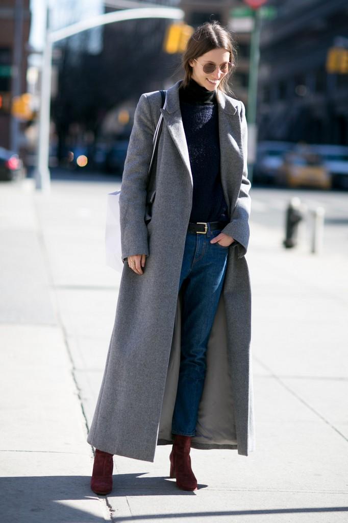 Jeans Off duty cum poarta modelele denimul