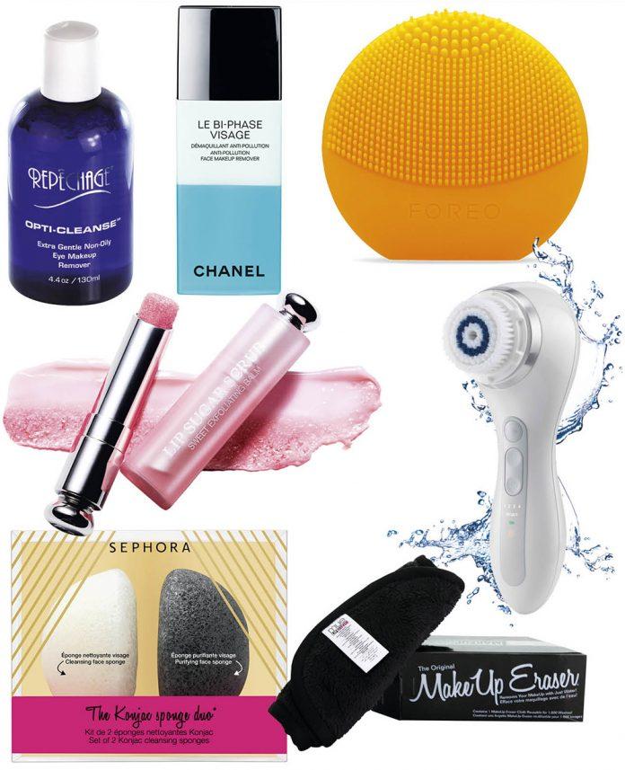 produse pentru curatarea pielii pe perioada primaverii