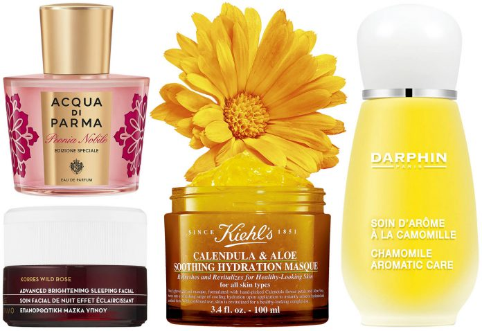 produse beauty cu arome florale