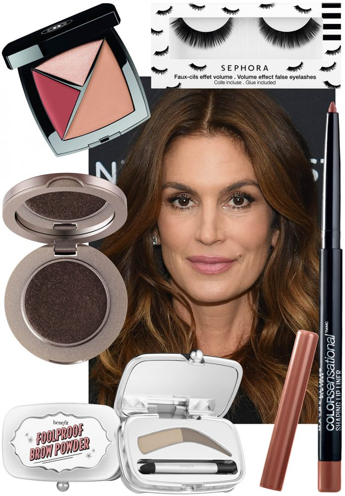 colaj The Look - Cindy Crawford