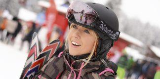 Sabrina Marinescu pasionatele de schi