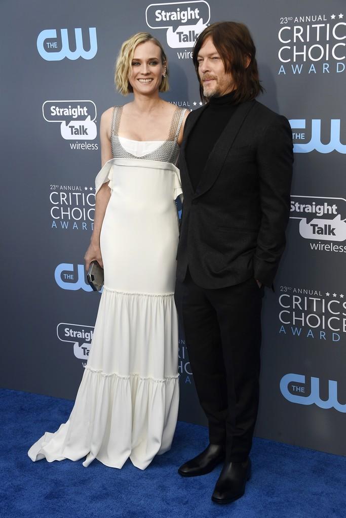 Diane Kruger si Norman Reedus primul copil