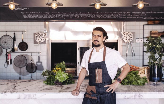 Alexandru Petricean restaurant Maize