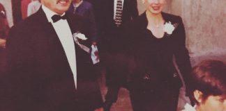 Părinţii designerului Mihai Dan Zarug la o nuntă în anii '90