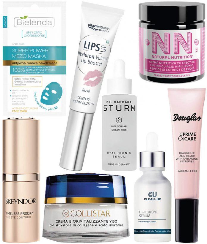 8 produse cu acid hialuronic de inclus în beauty kit