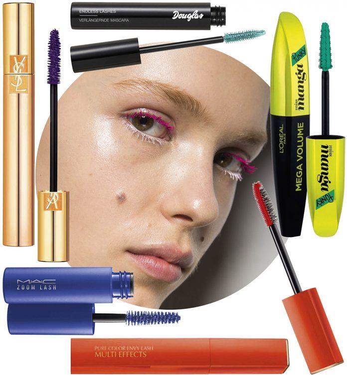 mascara colorată recomandări produse