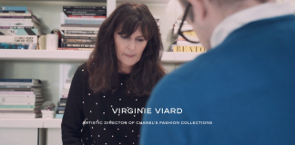 Behind the scenes CHANEL Métiers d'art, cu Virginie Viard