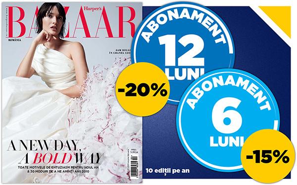 abonament Harper's Bazaar